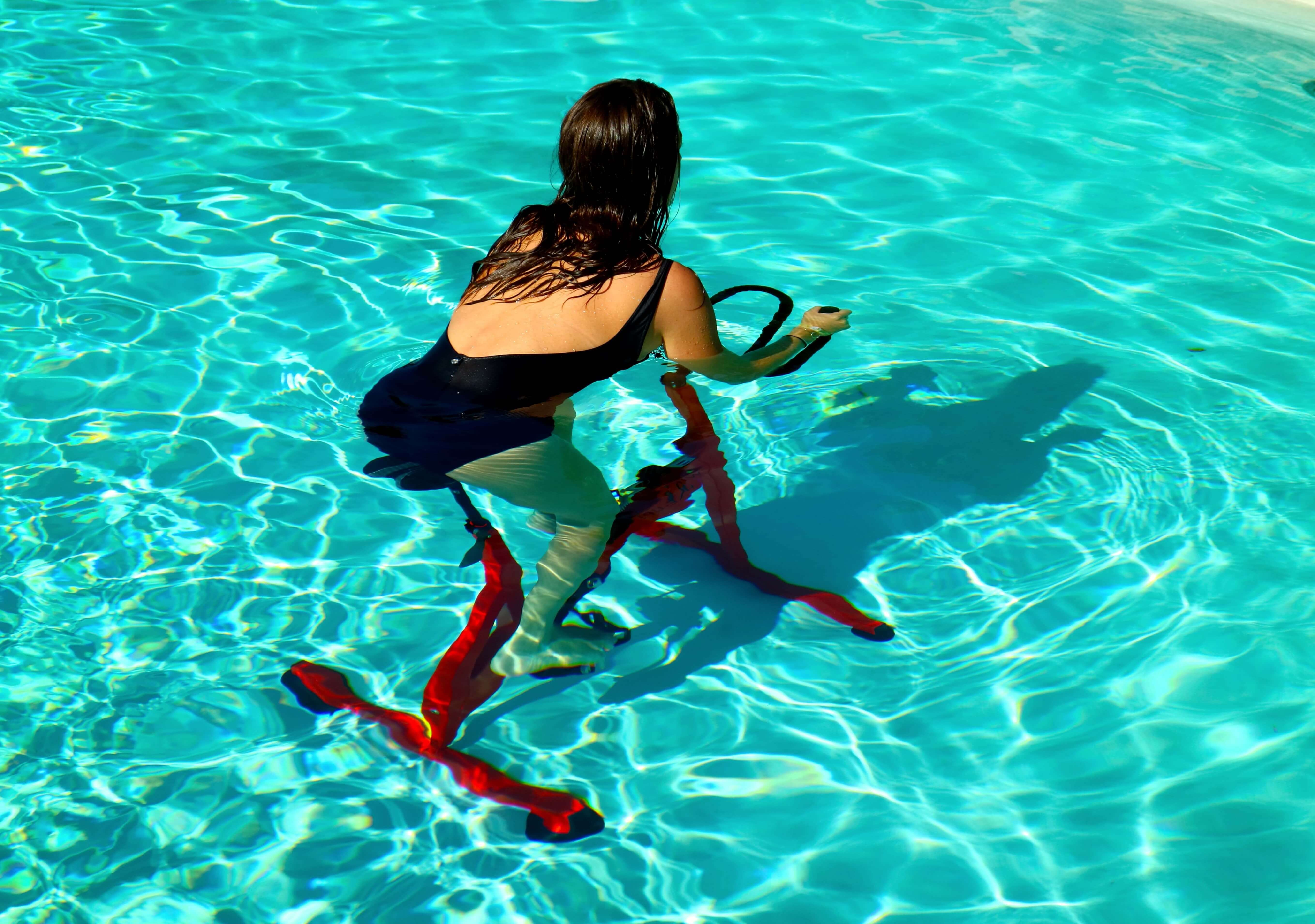 Aquabike In Waist Deep Water Because You 39 Ll Be Using Resistance The Exercise Will Help Burn Calories While Providing Other Health Benefits