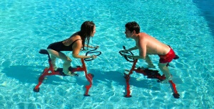 Work out with a friend to maintain your figure and have fun!